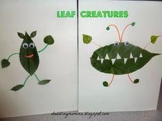 Dabblingmomma: Leaf Creatures