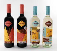 Sangwine wine by Lydia Nichols