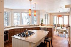 Windows. Kitchen - traditional - Kitchen - Portland Maine - Whitten Architects