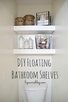 DIY Floating Bathroo