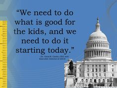 The Time to Reach across the Aisle for School Children Starts Now by Dr. Gene R. Carter, ASCD CEO and Executive Director