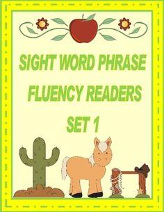 First Grade Sight Word Fluency Readers
