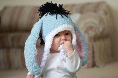 Eeyore Baby Earflap. $19.99, via Etsy.