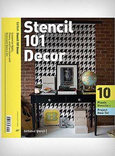 Stencil 101 Decor Reusable Stencils $24.95