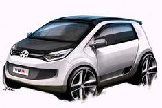 Volkswagen In Concept Design Sketch