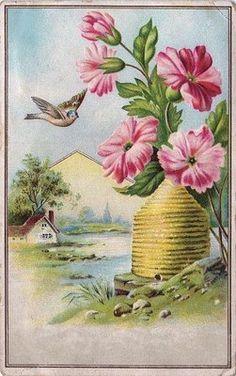 Beehive & Bird