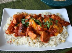 Slow Cooker Cheesy Mexican Chicken ~ Betty Crocker Recipes