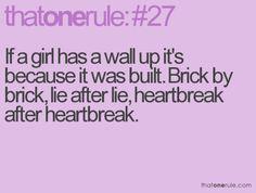 So hard to break down