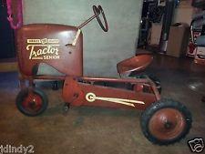 Vintage peddle tractor