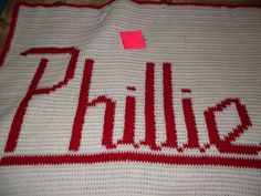 Is the man in your life a Sports Fanatic? Is he hard to buy for? Imagine his face when he opens your gift and finds his favorite sports team in a Hand Crocheted Work of Art! Jewels Designs Hand Crocheted Sports Team Blankets are now on Sale: $125.00 (standard size). We can re-create any team in our design. It takes 2-4 weeks to complete and we can even personalize it for you!!