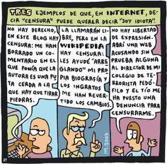 Censura para Dummies #Imagendeldia | La Imagen del Dia | Pinterest