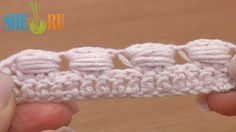 Crochet Wide Bullion Block Stitch Tutorial 40 Part 4 of 7 Made Around Three Posts  https://www.youtube.com/watch?v=Pd9Y1bz2BmA In this tutorial we demonstrate a wide bullion block stitch that is worked around three double crochet posts, we repeat yarn over and pull a loop through 3 times (you can do more or less). Also we show you completely different way to work a bullion block when the additional side loop of each block is hidden inside of the next stitch.