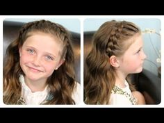 Lace Braid Headband--great for all ages and short hair