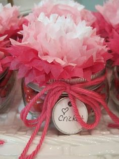 party favors, teacher gifts, secret sister gifts, gift jars, valentine gifts, neighbor gifts, candy jars, parti, candied pecans