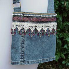 jean bags | Denim Purses – Handmade Blue Jean Handbags and Purses | ThisNext
