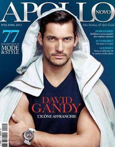 David Gandy on the cover of Apollo novo