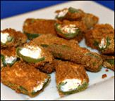 Healthy Jalapeno Poppers (5 poppers for 126 Cals) --- OHHHH YES! :) Now we are talking!