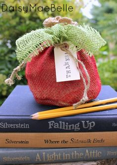 How to Make a Burlap Apple