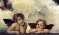 Raphael, Detail of the Madonna Dell Sistina.