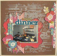 Thanksgiving Dinner - Scrapbook.com