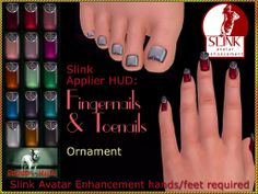 Bliensen + MaiTai - Slink Nail Applier HUD - Ornament Kopie | Flickr - Photo Sharing!