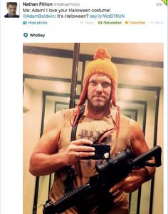 Nathan Fillion to Adam Baldwin on Twitter