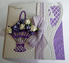Card: Happy Birthday card idea, spellbind, craft, happy birthdays, anja, mariann die, cardmak, happi birthday, mariann design