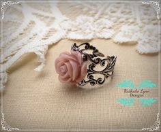 Pink Filigree Adjust