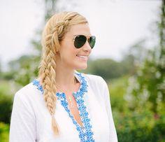 A little dash of darling - big hair mermaid braid
