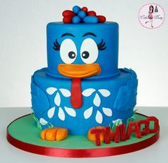 bird, cakes, ducks, cake decor, duck cake, birthday kids