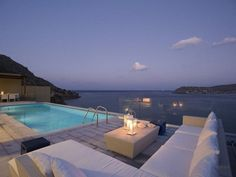 Coastal villa in Island of Crete, Greece.