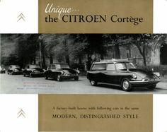 The English Citroën ID 19 Cortege