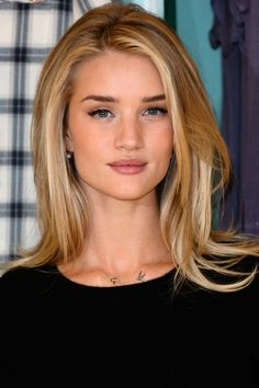hair color rosie huntington whiteley, natural makeup, blonde, hair colors, style, hair makeup, rosi huntingtonwhiteley, beauti, highlight