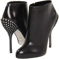 black booti, nero booti, ankle boots, sergio rossi, pumps