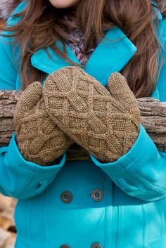 Ravelry: Fallow Mittens pattern by Melissa Schaschwary