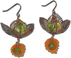 Great Pumpkin Harvest Earrings Tutorial