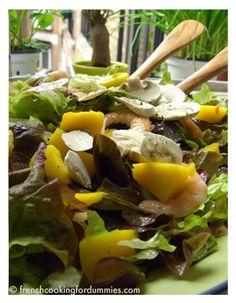 Mango and Shrimp Salad shrimp salad, fruit salad, salad recipes, jello salad