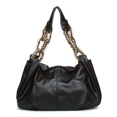 Elwood- chain-embellished shoulder bag