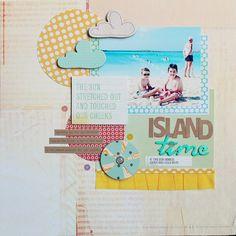 island time Dear Lizzy ruffle paper