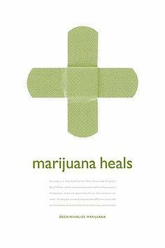 medical marijuana poster by Hope Meng - CCA GD1 - Mark Fox