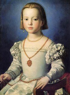 Bia de Medici, Bronzino