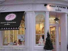 Peggy Porschen peggi porschen, heart cupcak, cupcakes, cooki packag, porschen parlour, beauti storefront, store front, blog, bakeri idea