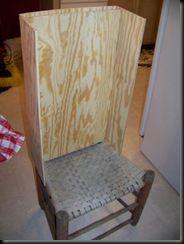 Make-do Chair Tutorial