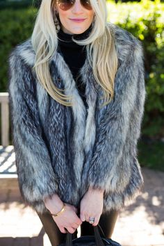 asos fur jacket