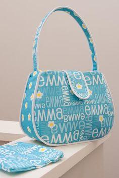 Cute purse and fabric idea