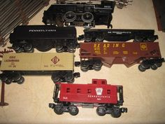 Vintage Lionel Cannonball Express 027 Gauge Set Accessories + Extra Track