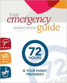 72 Hour Emergency Preparedness Kit: {DIY}