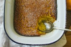 Meyer Lemon Delicious Pudding | Simple Provisions