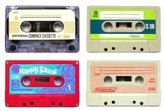 Mixed tape.  Do you remember the amount of time we invested in these babies?