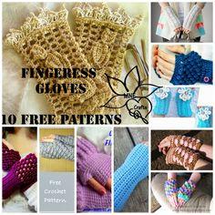 MNE Crafts: Fingerless Gloves Round Up - 10 Free Patterns